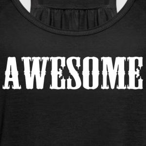 Awesome logo - Women's Tank Top by Bella