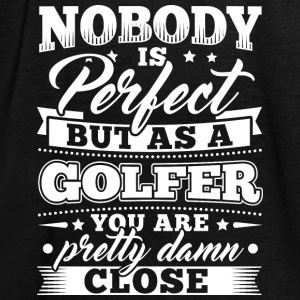 Grappig Golf Golfen shirt Nobody Perfect - Vrouwen tank top van Bella