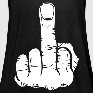 Middle finger! present - Women's Tank Top by Bella