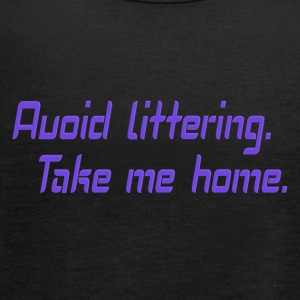 Avoid littering - Women's Tank Top by Bella