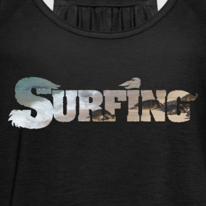 Surfing surf water riding - Women's Tank Top by Bella