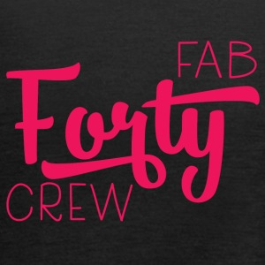 40th birthday: Fab Forty Crew - Women's Tank Top by Bella