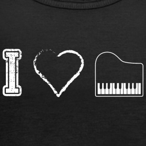 I love piano piano - Women's Tank Top by Bella