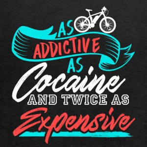 Bike! As Addictive as Cocaine and Twice Expensive - Women's Tank Top by Bella