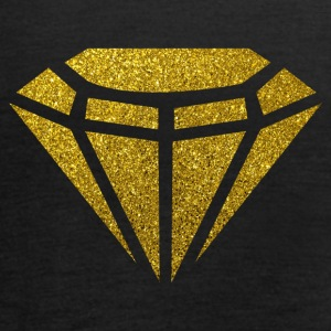 Golden Diamond - Golden Diamond Glitter Gold - Women's Tank Top by Bella