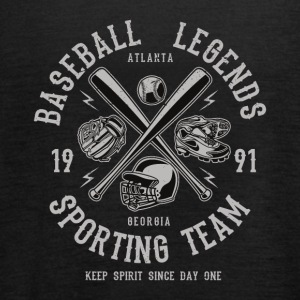Baseball Legends Sporting Team Spirit Sport Shirt - Frauen Tank Top von Bella