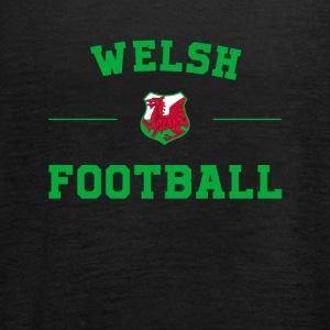 Wales Football Shirt - Wales Soccer Jersey - Women's Tank Top by Bella