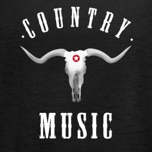 country music longhorn western ranch cowboy usa fu - Frauen Tank Top von Bella