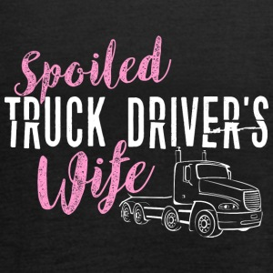 SPOILED TRUCK DRIVER S WIFE - Women's Tank Top by Bella