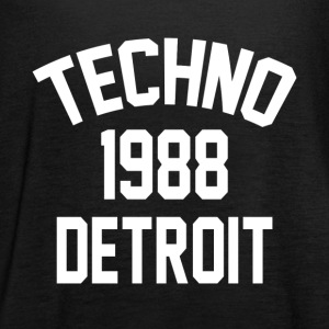 Techno 1988 Detroit - Women's Tank Top by Bella