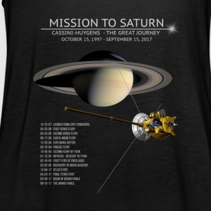 Cassini Huygens Tour Sihrt - The Grand Final - Women's Tank Top by Bella