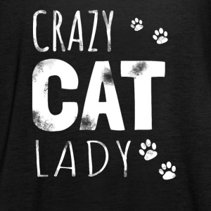 Crazy Cat Lady - Cat Shirt / Hoodie - Women's Tank Top by Bella