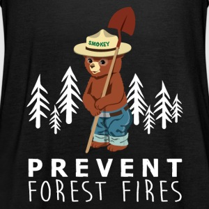 A LITTLE SMOKEY PREVENT FOREST FIRES - Women's Tank Top by Bella