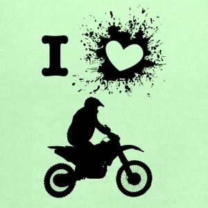 ILove DirtBike - Women's Tank Top by Bella