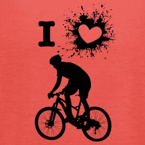 ILove biking - Women's Tank Top by Bella