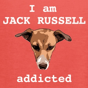 Jack russel addicted white - Women's Tank Top by Bella