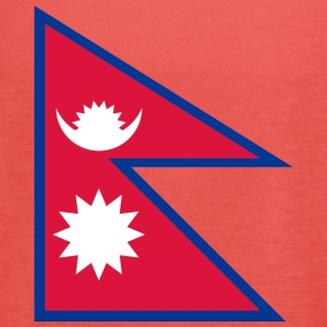 National Flag of Nepal - Tanktopp dam från Bella