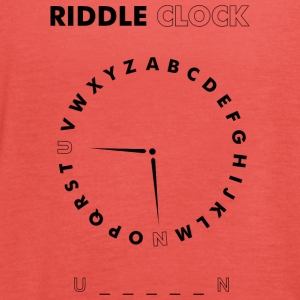Riddle Clock Unicorn - Frauen Tank Top von Bella