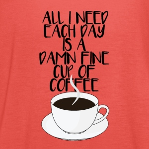 Damn Fine Cup of Coffee - Vrouwen tank top van Bella
