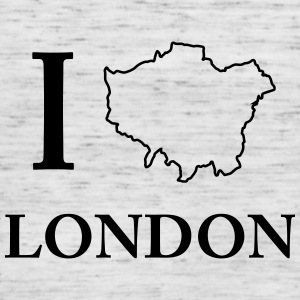 I love I love London United Kingdom - Women's Tank Top by Bella
