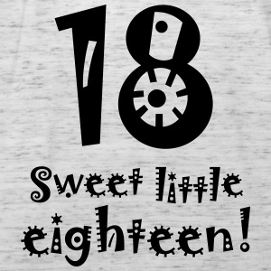 sweet little eighteen 18th birthday Birthday mature - Women's Tank Top by Bella