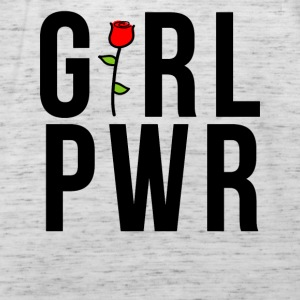 Girl Power GRL PWR Rose Gift - Women's Tank Top by Bella