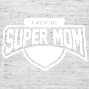 Awesome Super Mom - Women's Tank Top by Bella
