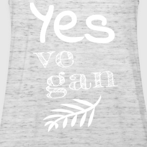 Yes Vegan - Women's Tank Top by Bella