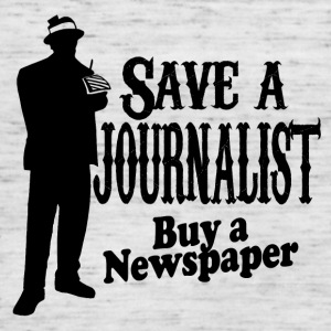 Save a journalist - Women's Tank Top by Bella