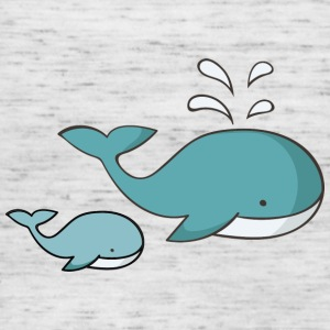 whale - Women's Tank Top by Bella