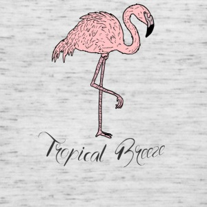 Pink Flamingo Bird of Paradise Tropical Breeze - Dame tanktop fra Bella
