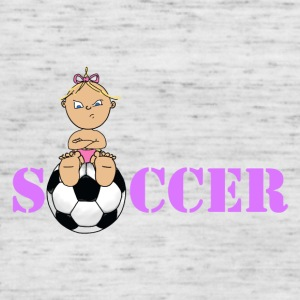 Soccer girl 4 2 - Women's Tank Top by Bella