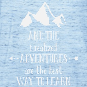 Learn in Adventures - berg - Frauen Tank Top von Bella