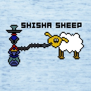 shisha Sheep - Tank top damski Bella