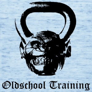 Oldschool Training Kettlebell - Frauen Tank Top von Bella