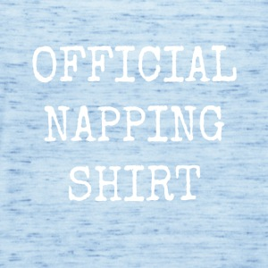 Official napping shirt - Women's Tank Top by Bella
