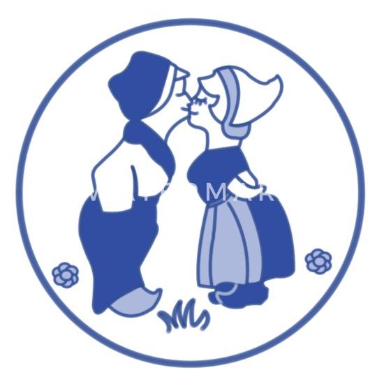 Blauwe Mason jar dating