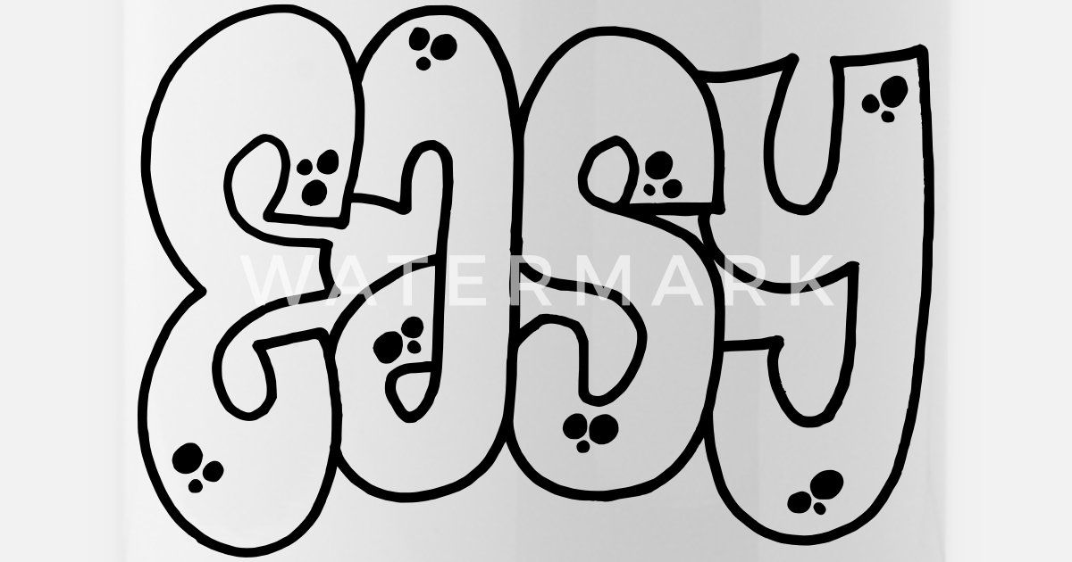 Graffiti Facile Gourde Spreadshirt