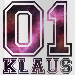 Klaus Name - Trinkflasche