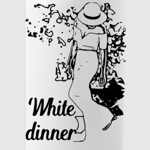 White Dinner Kollektion 1 - Trinkflasche
