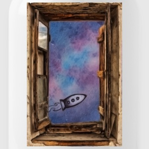 Window on 'universe - Water Bottle