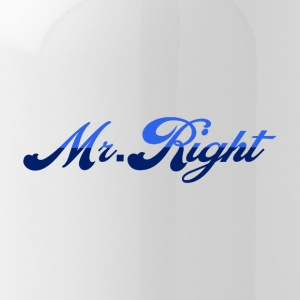 Mr. Right - Water Bottle