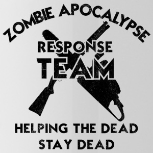 Zombie: Zombie Apocalypse Response Team. Helping - Water Bottle