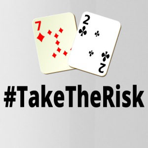 Take The Risk 7 2o black - poker - Water Bottle