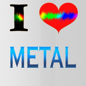 I Love Metal - Borraccia