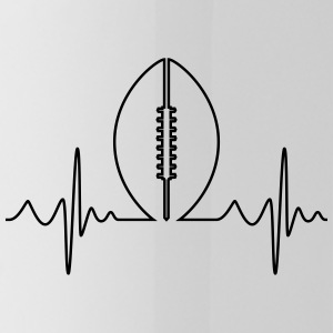 American Football Heartbeat - Drinkfles