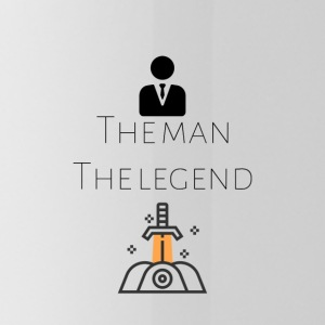 The man The legend - Water Bottle