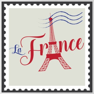 Stamp - La France - Trinkflasche