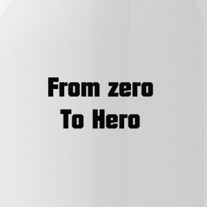 from zero to hero - Water Bottle