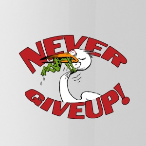 never giveup 2 - Trinkflasche